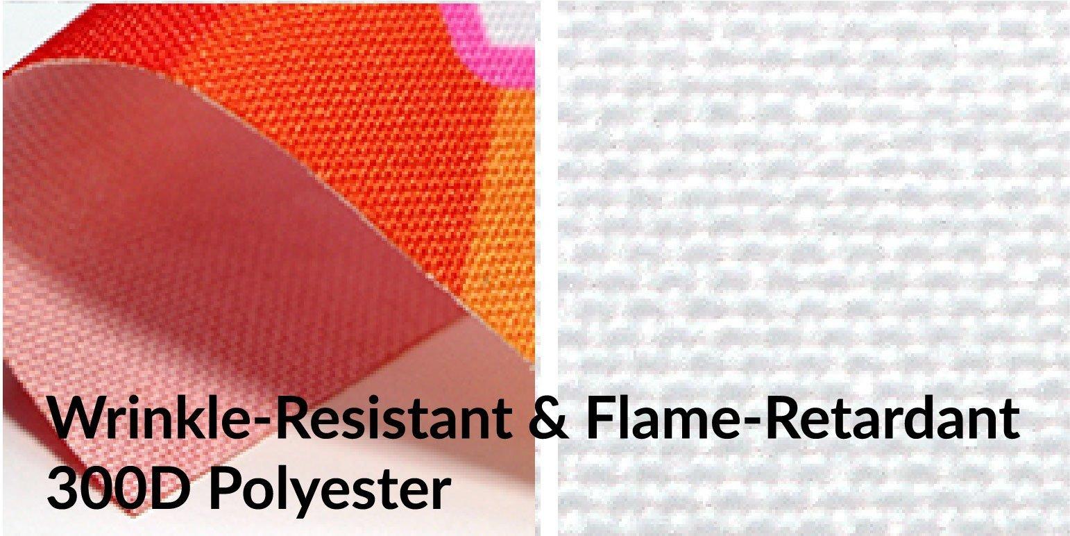 material-300D wrinkle-flameretardant