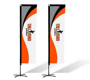 rectangular flags custom