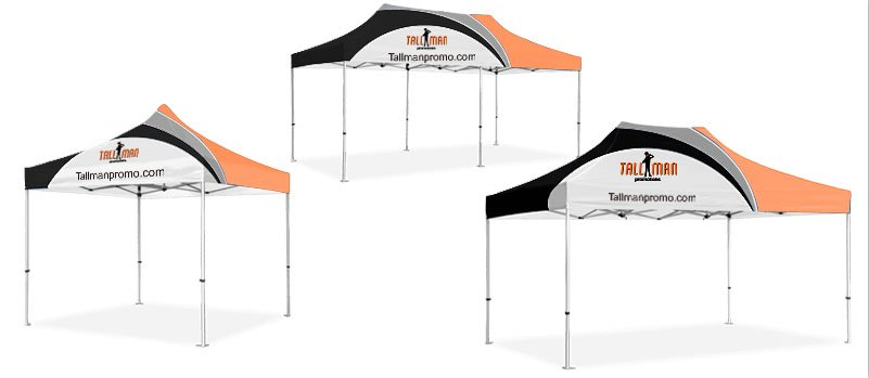 Instant Event Tents - Tall Man Promo |1 Source for Event Marketing